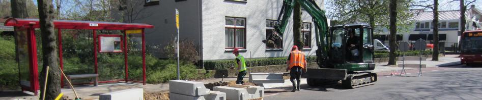 Tieck Infra - grondwerk - rioleringswerk - bestratingswerk